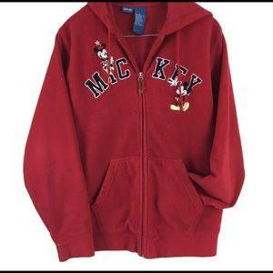 Mickey Mouse Red Hoodie lg